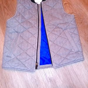 Old Navy Boys Gray 6/7 quilted vest